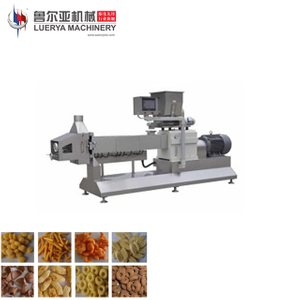 Corn Cheese Ball Puff Snack Food Processing Machine from Luerya