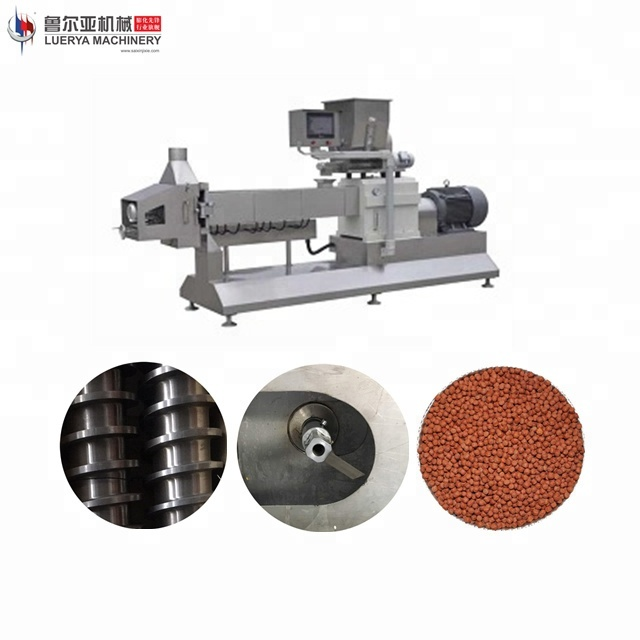 Floating fish food feed machinery / processing line of China Manufacturer
