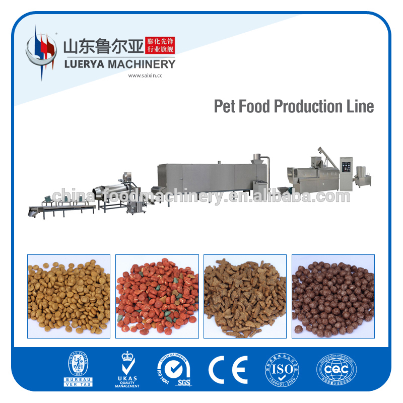 Full automatic animal feed processing machine line with factory