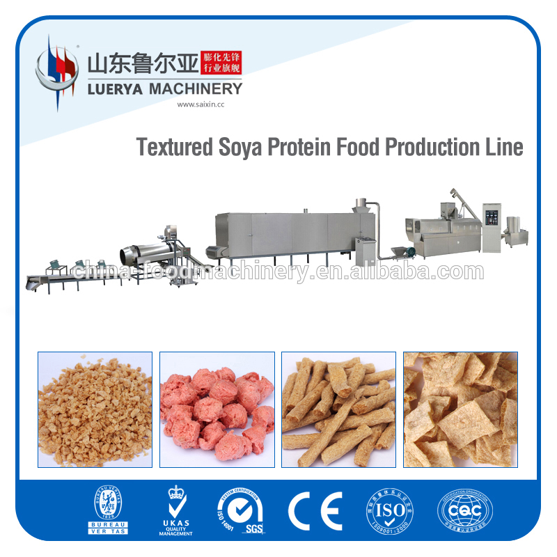 150kg/h Soya Nugget/ Protein Food Making Machine