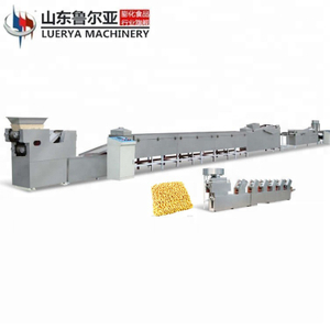 Chinese manufacturer fried instant noodle processing machine