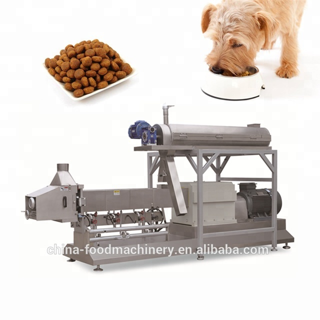 High quality pet food extruder for dog/cat/bird equipment